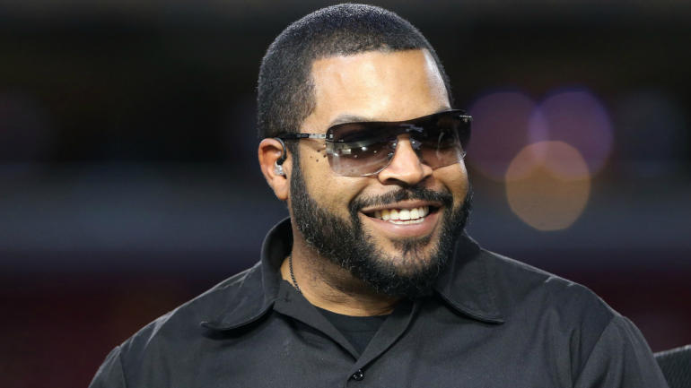 Dec 17, 2015 St. Louis, MO, USA; Recording artist and entertainer Ice Cube on the NFL Network set at the Edward Jones Dome. The Rams won 31-23. Mandatory Credit: Aaron Doster-USA TODAY Sports