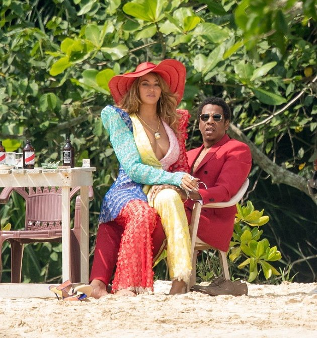 Jay-Z and Beyonce Caught Shooting in Jamaica After Announcing Their